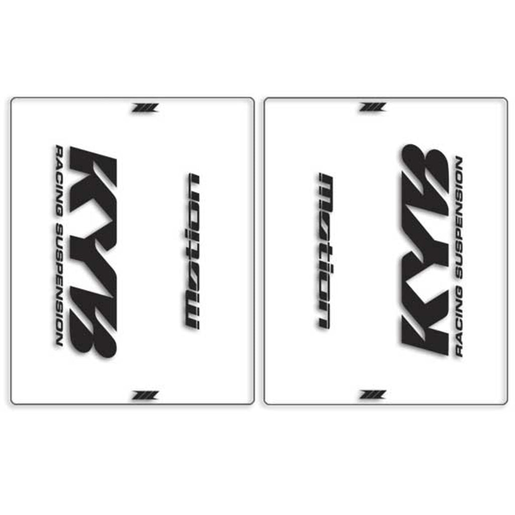 Dirt-Freak Clear Motion KYB Front Fork Outer Decal (Blk)