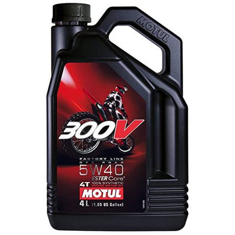 Motul 300V 4T Off Road 5W40 (4 Litre)
