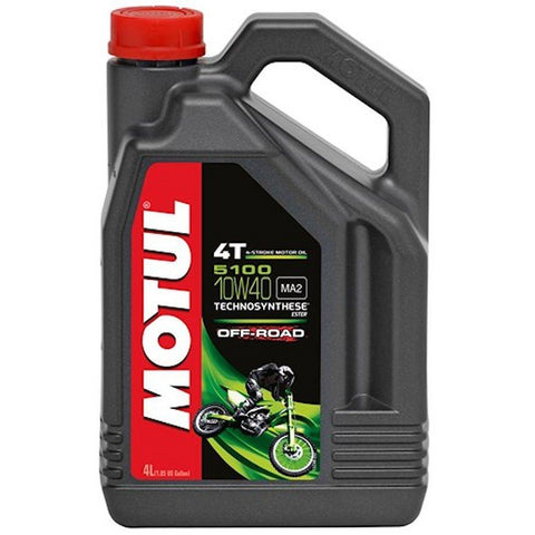 Motul 5100 10W-40 4T Off Road Oil (4 Litre)