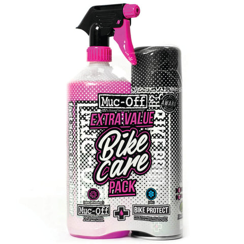 Muc-Off Bike Care Duo Kit (1 Litre Bike Cleaner + 500ml Bike Protect Spray)