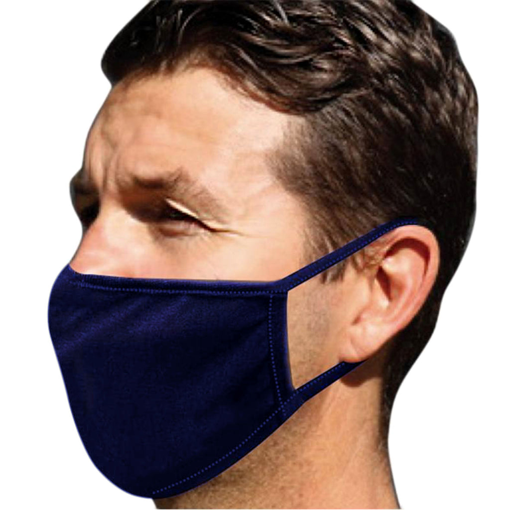 Defender Adult Face Mask & Extreme Sports Wash Essential Pack (Navy)