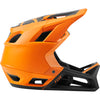 Fox MTB Proframe Matte Full Face Helmet with MIPS Tech (Atomic Orange)