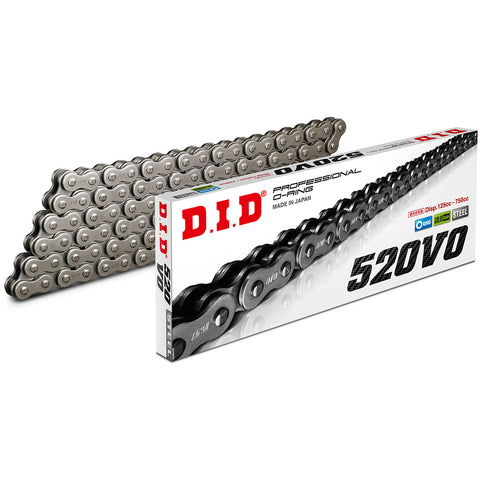 DID 520VO 120 Link Professional O-Ring Chain (Steel)