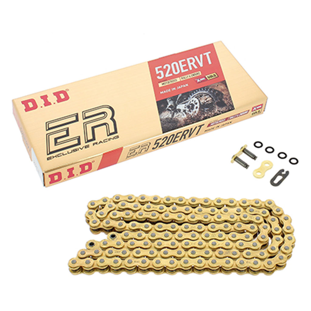 DID 520 ERVT 120 Link Exclusive Racing Chain (Gold)