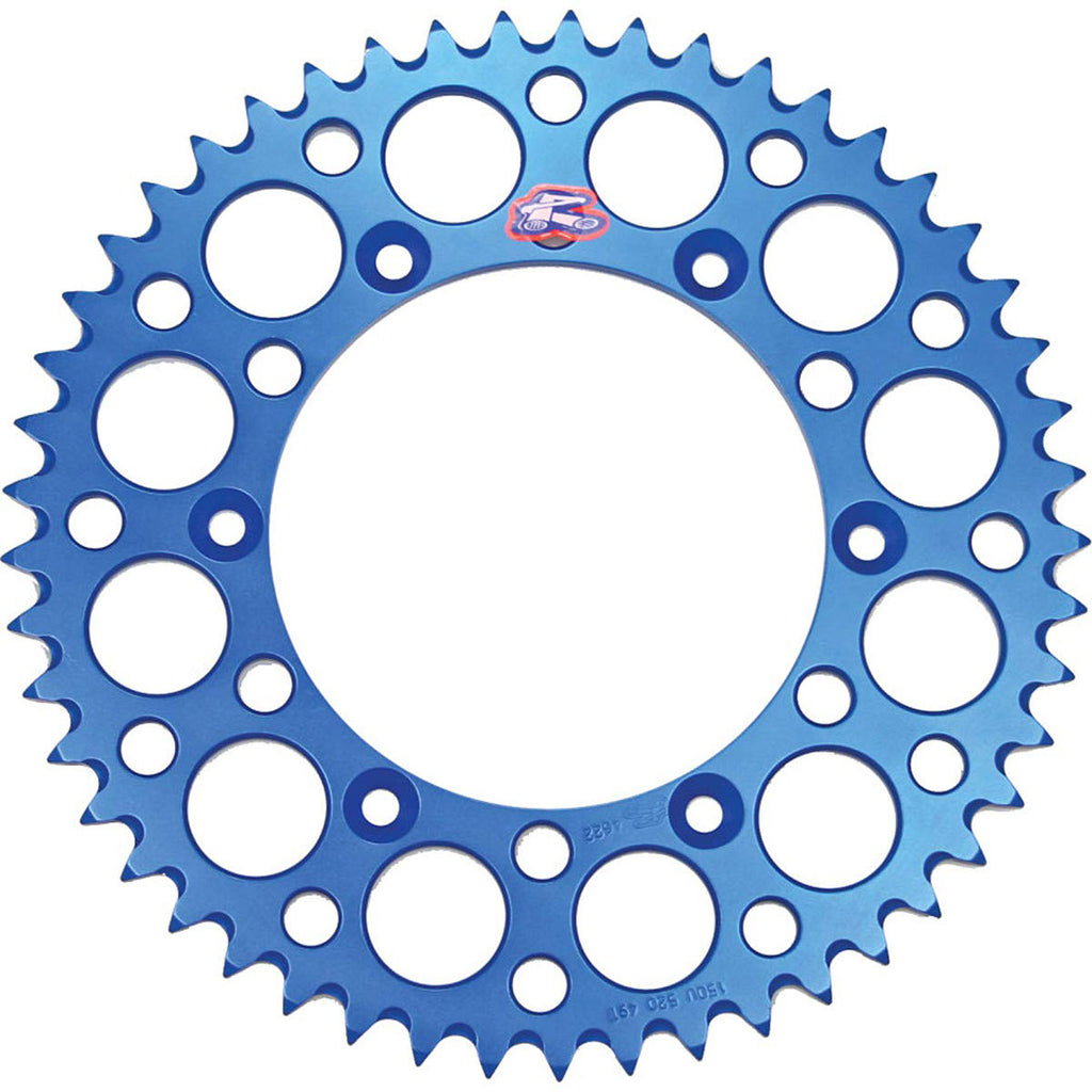 150U-520-48GBBU Renthal Ultralight 48 Tooth Rear Sprocket - Yamaha (Blue)