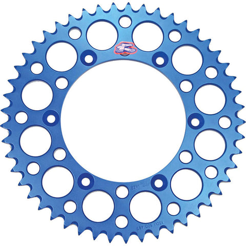 150U-520-51GBBU Renthal Ultralight 51 Tooth Rear Sprocket - Yamaha (Blue)