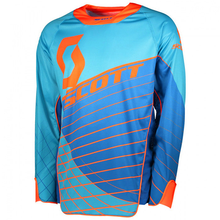 Scott Enduro Jersey (Blue/Orange)