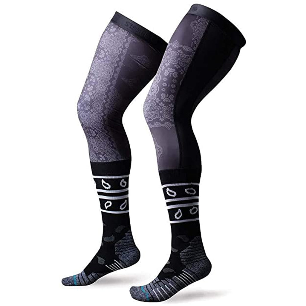Stance Clash Brace Performance Moto Socks (Black)
