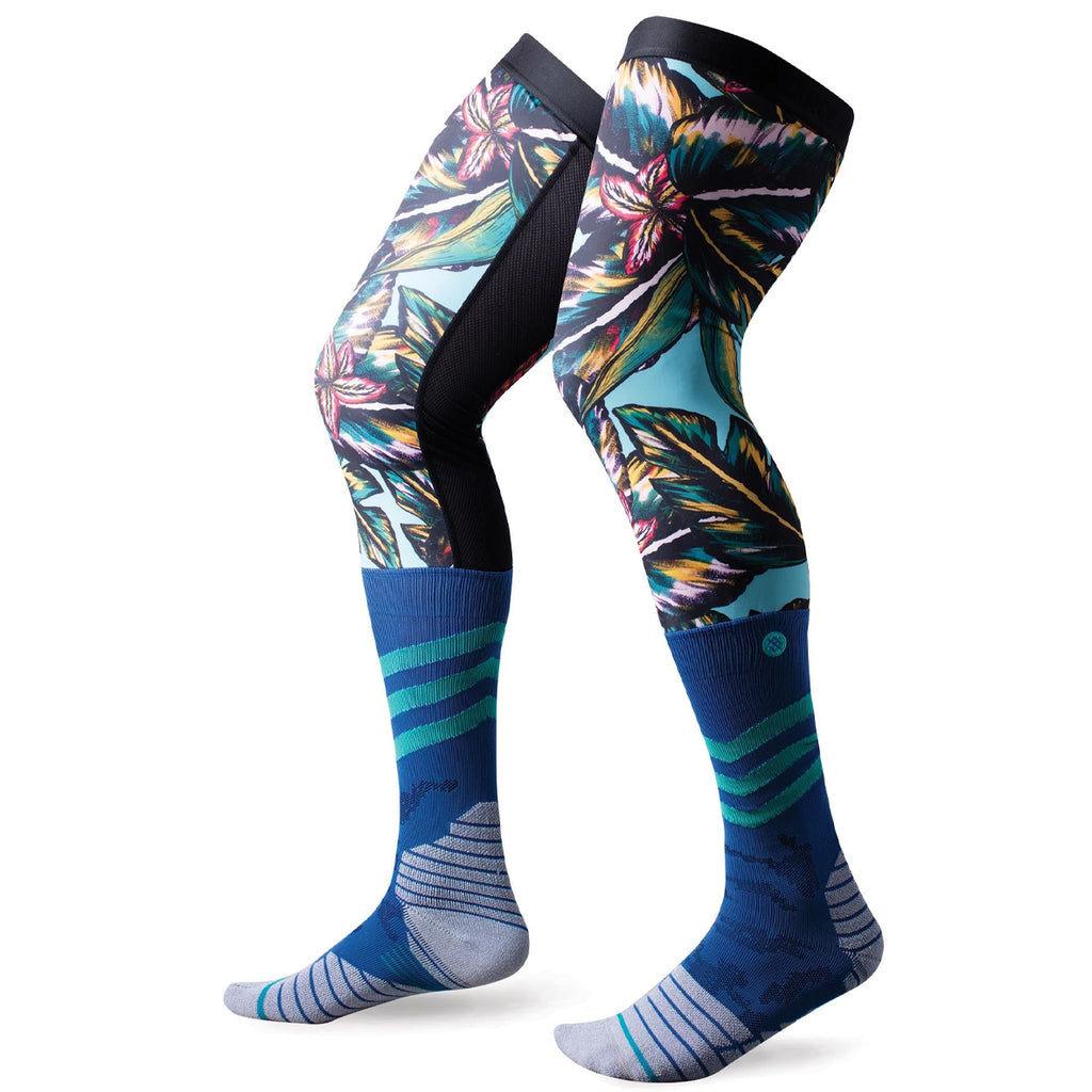Stance Mililani Brace Performance Moto Socks (Blue)