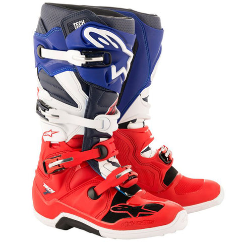 Alpinestars Limited Edition Union Tech 7 MX Boot (Blue/White/Red)