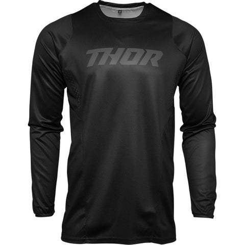 MX21 Thor Pulse Blackout Jersey (Black)