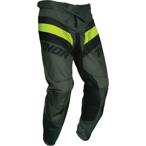 MX21 Thor Pulse Racer Army Pants (Army/Acid)