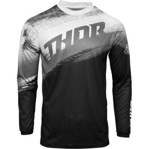 MX21 Thor Sector Vapor Jersey (Black/White)