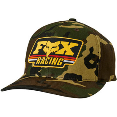 Fox Throwback 110 Snapback Cap (Camo)