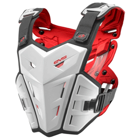 EVS F1 Roost Guard Chest Protector (White)