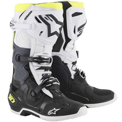 Alpinestars Tech 10 2019 Boot (Black/White/Yellow)