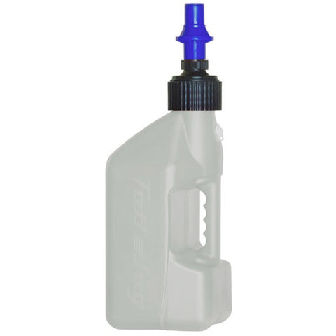 TUFF 10L Utility Jug with Blue Ripper Cap (White)