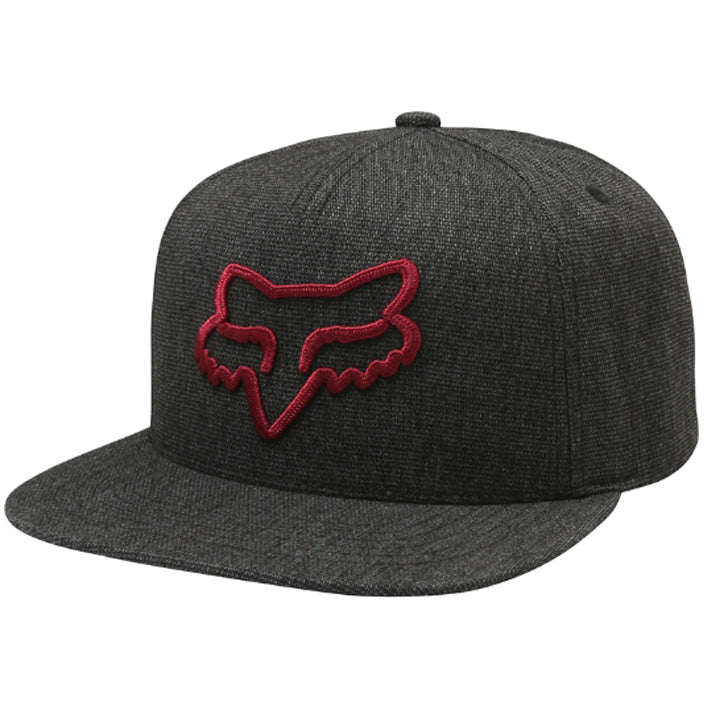 Fox Instill Snapback Cap (Heather Black)