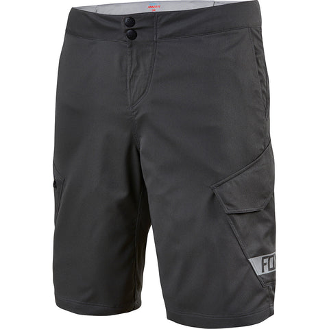 "MTB Fox Ranger Cargo Shorts 12"" (Black/Black)"