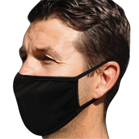 Defender Adult Face Mask & Extreme Sports Wash Essential Pack (Black)