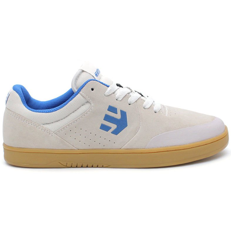Etnies Marana Casual Shoes (White/Blue/Gum)
