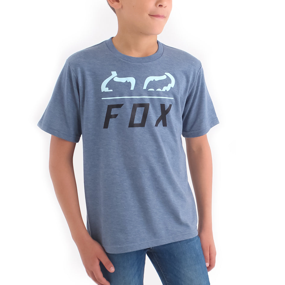 Fox Furnace Boys Tee (Heather Glory)