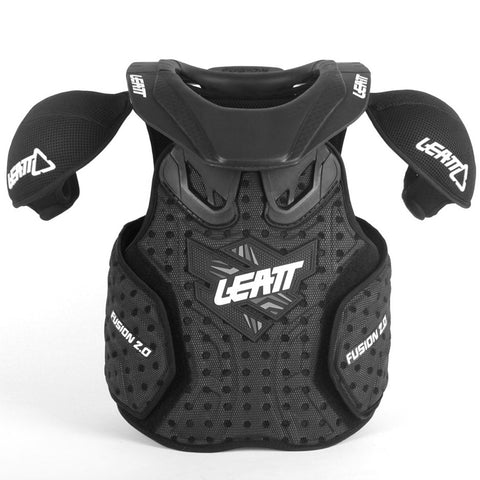 Leatt Fusion Vest 2.0 Jr (Black)