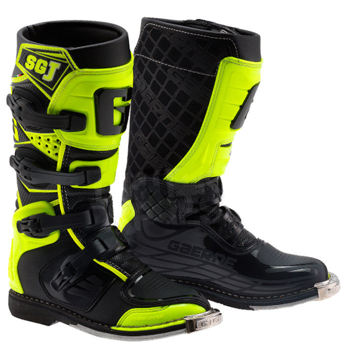Gaerne Youth SG-Junior MX Boot (Black/Flo Yellow)