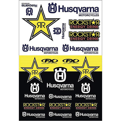 Factory Effex Husqvarna Racing Sticker Pack