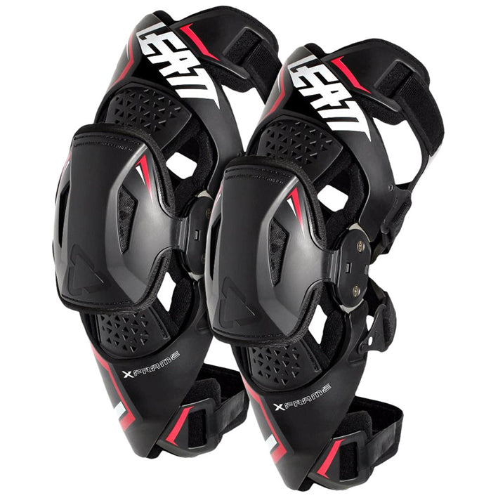 Mx Knee Braces >> Leatt Knee Brace X Frame Pair Black