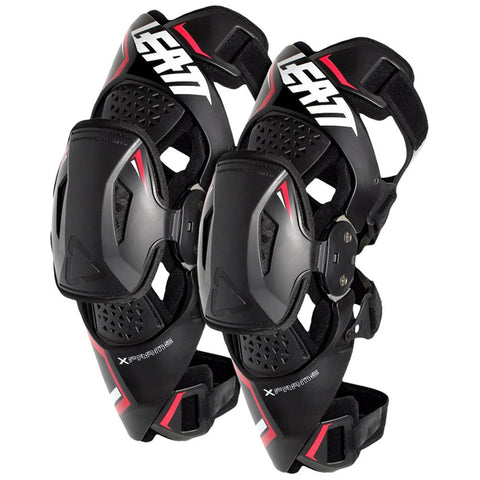 Leatt Knee Brace X-Frame - Pair (Black)
