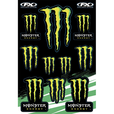 Factory Effex Monster Sticker Pack