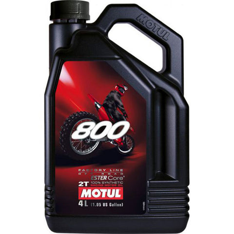 Motul 800 2T Factory Line Off Road Oil (4 Litre)