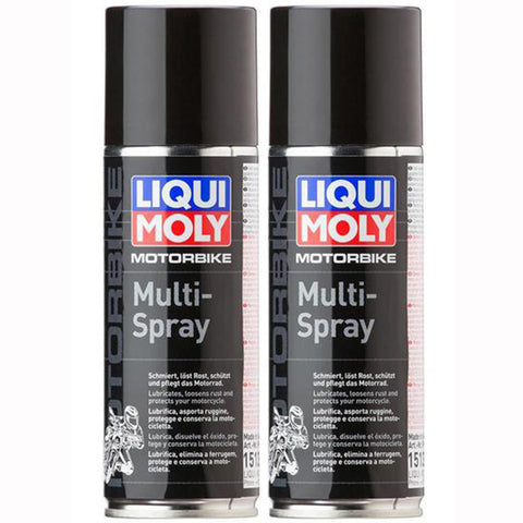*Multipack* 2 x Liqui Moly Motorbike Multi-Spray (200ml)