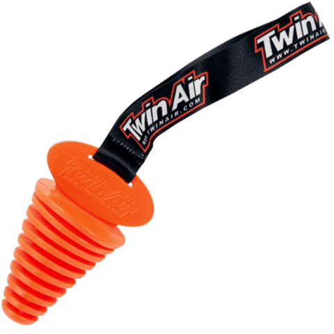 Twin Air Exhaust Plug (Orange)