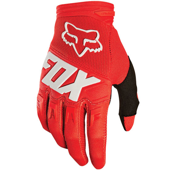 Fox Youth  Dirtpaw Race Gloves (Red)