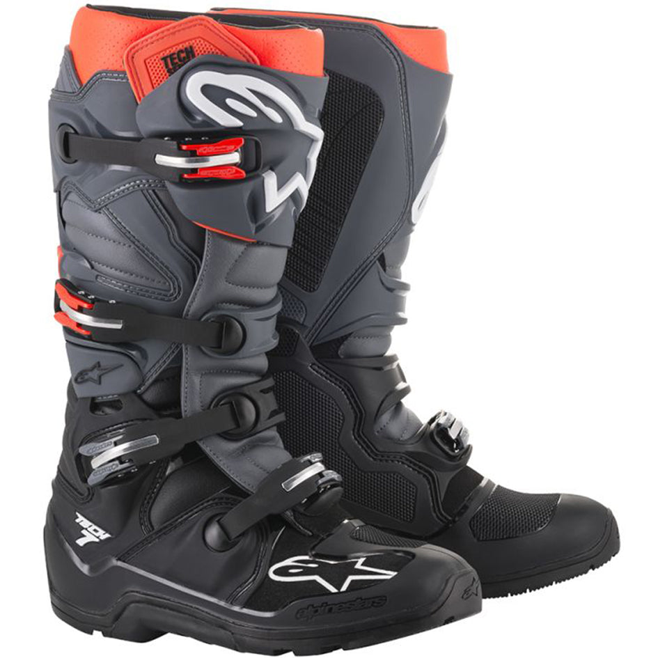 Alpinestars Tech 7 Enduro Boot (Black/Grey/Red)