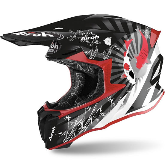 Airoh Twist 2.0 Katana Helmet (Gloss Red)