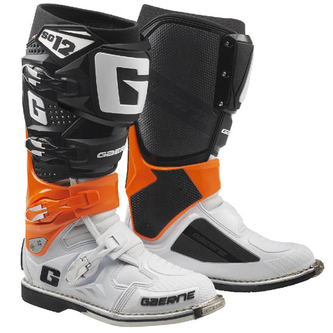 Gaerne SG12 Boots (Orange/Black/White)