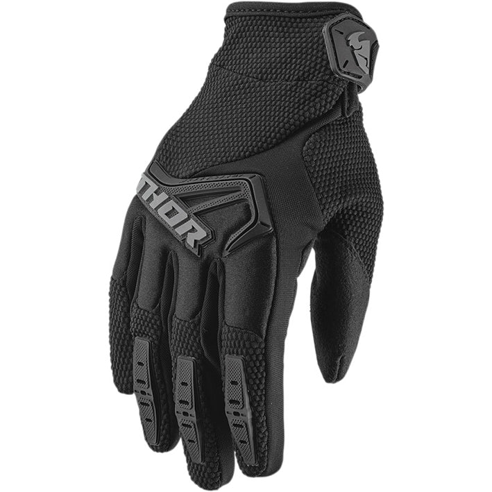 Thor Youth Spectrum Gloves (Black)