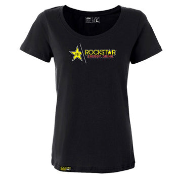 Rockstar Split Women's Tee (Black)