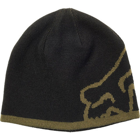 Fox Streamliner Beanie (Black/Green)