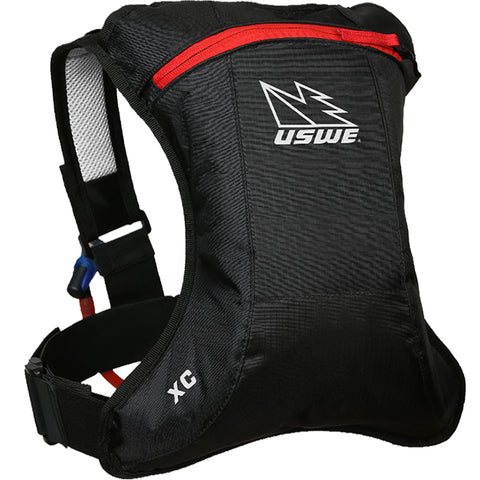 USWE XC Elite 2L Hydration Pack (Black/Black)