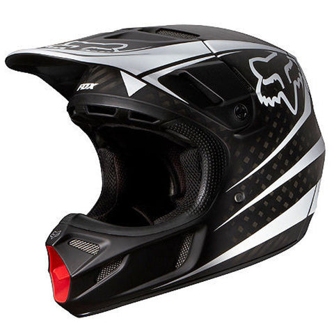 Fox V4 Carbon Reveal Helmet (Black)