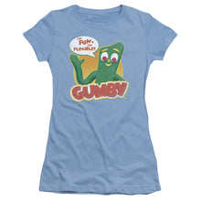 "Load image into Gallery viewer, Gumby T-Shirt: ""Fun & Flexible"""