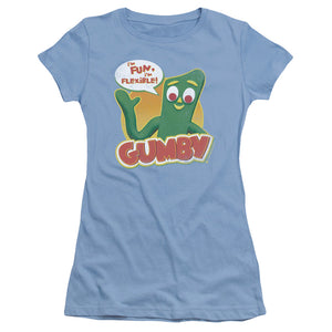 "Gumby T-Shirt: ""Fun & Flexible"""