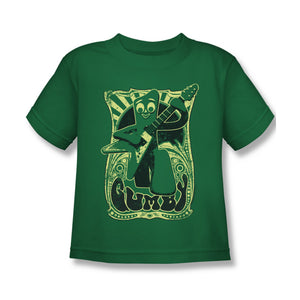 "Gumby T-Shirt: ""Vintage Rock Poster"""