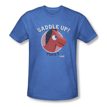 "Load image into Gallery viewer, Gumby T-Shirt: ""Saddle Up"""