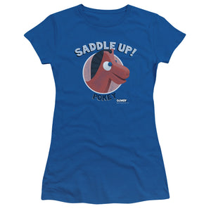 "Gumby T-Shirt: ""Saddle Up"""