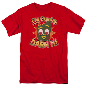 "Gumby T-Shirt: ""Darn It"""